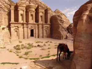 Petra city - the church